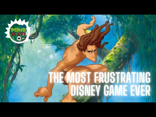 The Most FRUSTRATING Disney Game EVER | Disney's Tarzan | PSX 2019