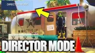 How to unlock director mode in gta 5