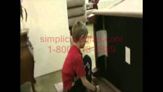 8 Year Old Assembles a Simplicity Sofa in less than 5 Minutes
