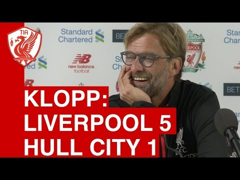 Liverpool 5-1 Hull: Jurgen Klopp's post-match press conference