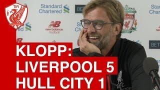 Video Gol Pertandingan Liverpool vs Hull City