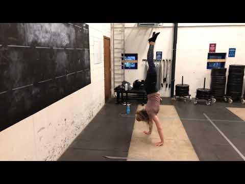 handstand walk to wall  youtube