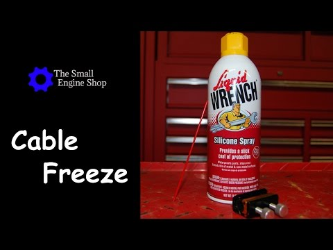 How To Lubricate A Cable - Prevent Cable From Freezing