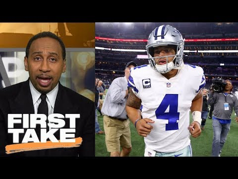 Stephen A. Smith picks Cowboys to beat Chargers | First Take | ESPN