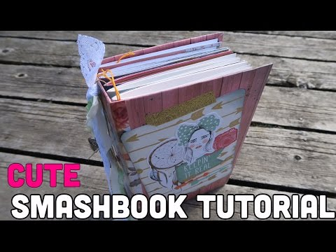 How To Make A Junk Journal // Memory Keeping Journal | I'm A Cool Mom