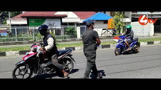 Peringati Hari Buruh 2021, DPC FPE KSBSI Mimika Gelar Bhaksos Bagi Masker Dan Bersihkan Jalan A.Yani