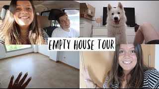 EMPTY HOUSE TOUR | VLOG MUDANZA 3 | Laura Yanes