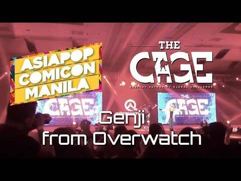 APCC 2017 - The CAGE: Genji from Overwatch