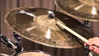 Soultone cymbals Mega Bell Extreme Ride Demo