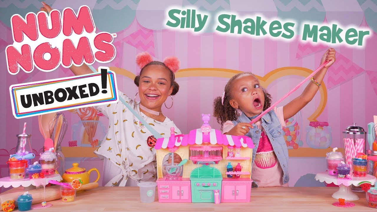 Unboxed! | Num Noms | Season 3 Episode 4: Silly Shakes Maker | DIY Scented Slime Maker