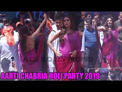 Aarti Chabria Celebrates Holi 2019 At Country Club