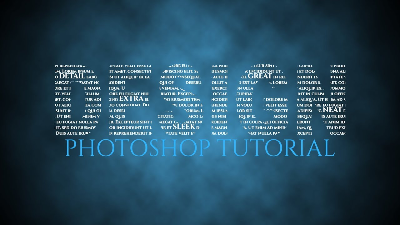 Text Typography Wallpaper Effect