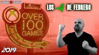 Xbox Game Pass Los 4 Títulos Que Dejan El Servicio En Febrero |mondoxbox