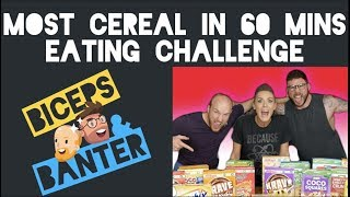 Most Cereal In 60 minutes Food Challenge | Guest Eating Challenge