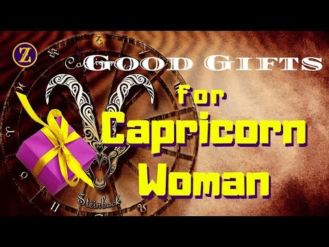 Good Gifts For Capricorn Woman - YouTube
