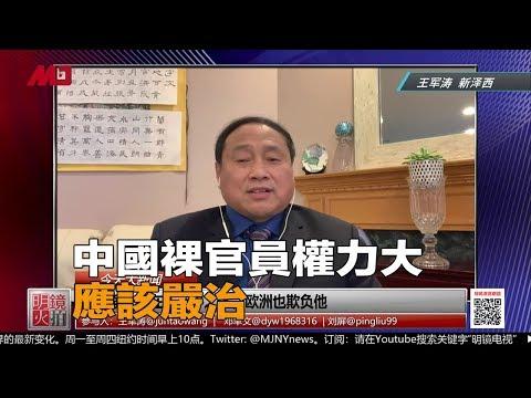 王军涛:中国裸官员权力大,应该严治