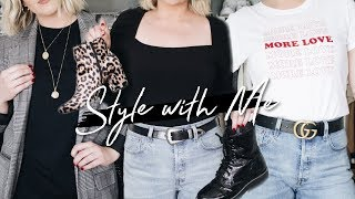 STYLE WITH ME: FALL OUTFITS! HOW I PUT TOGETHER OUTFITS (EP. 2) 2018