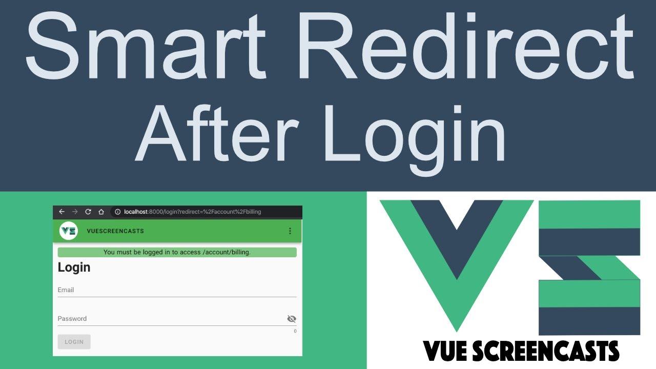 Smart Redirect after Login