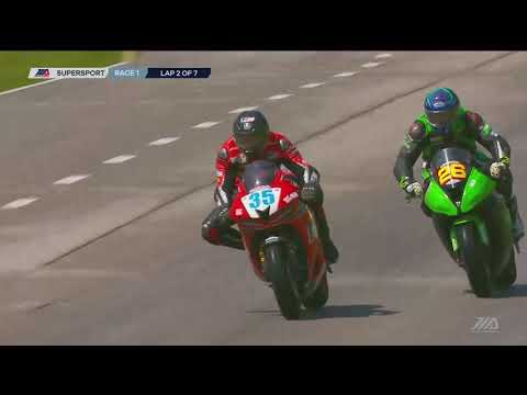 FULL RACE : Supersport Race 1 from Road America