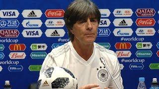 В Сочи завершилась пресс-конференция главных тренеров сборных Германии и Швеции