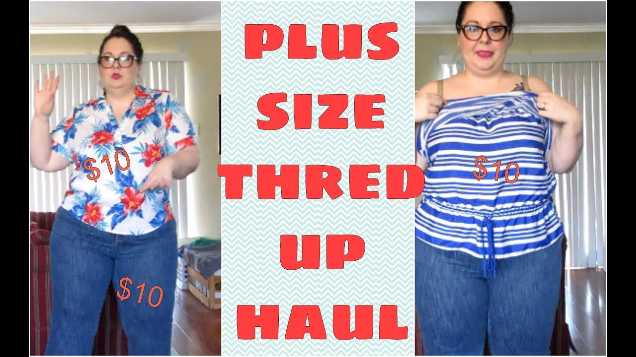 Plus Size Thred Up Haul (everything under $10)