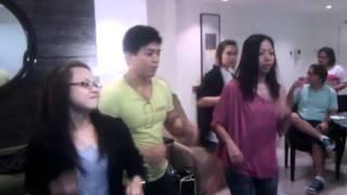 Brady Manila QA Team does Dance Central