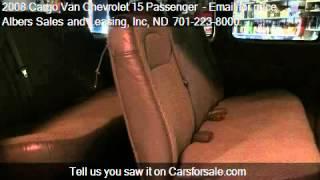2008 Cargo Van Chevrolet 15 Passenger LIKE NEW! for sale in