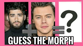 Guess the Face Morph Challenge • One Direction