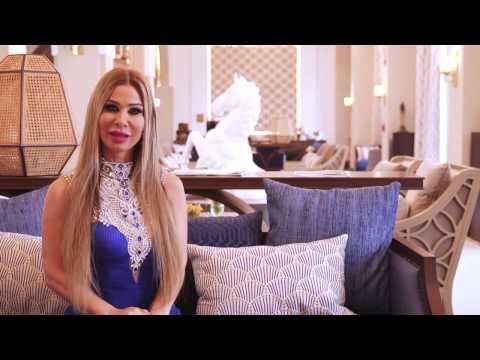 Lara Tabet's photoshoot at St Regis Polo Resort Dubai | Behind the Scenes
