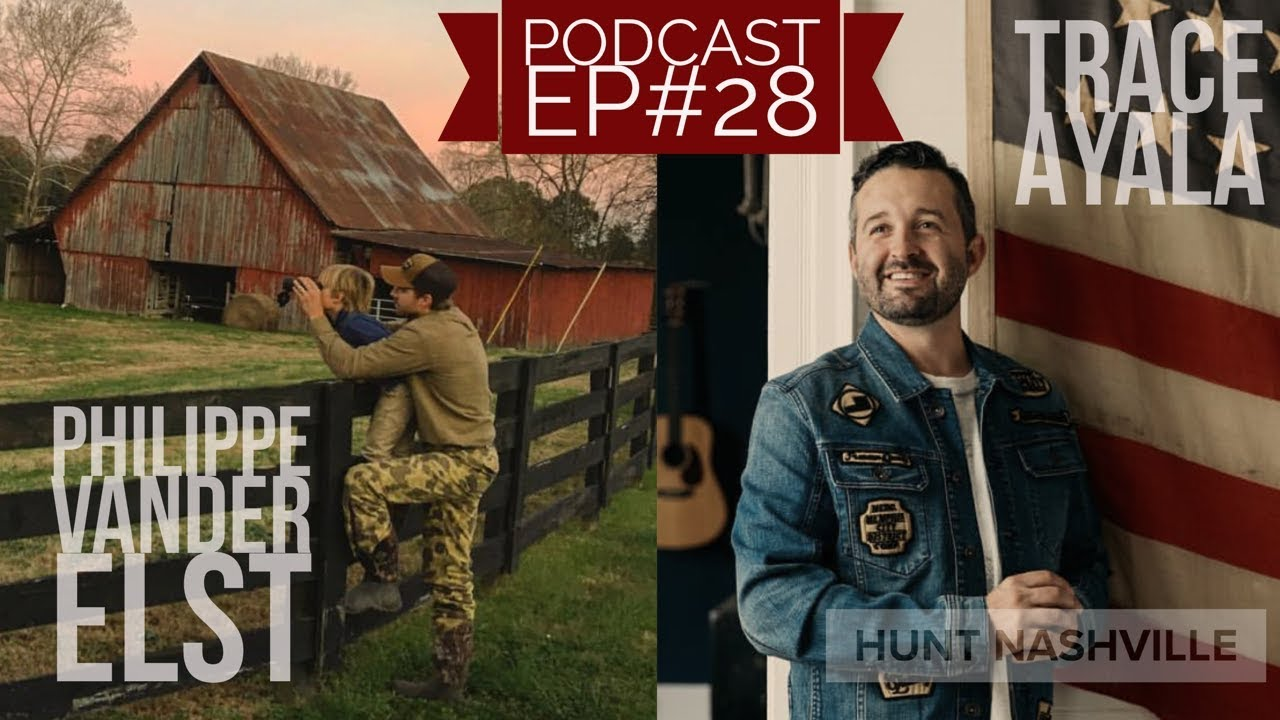 Trace Ayala (Justin Timberlake Creative Director), Phillipe Vander Elst  - Hunt Nashville Podcast