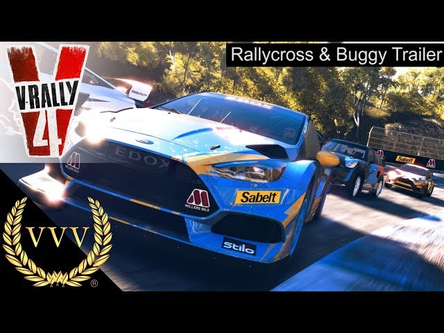 V Rally 4 | Rallycross & Buggy Trailer