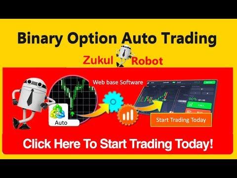 Binary option robot auto trading software