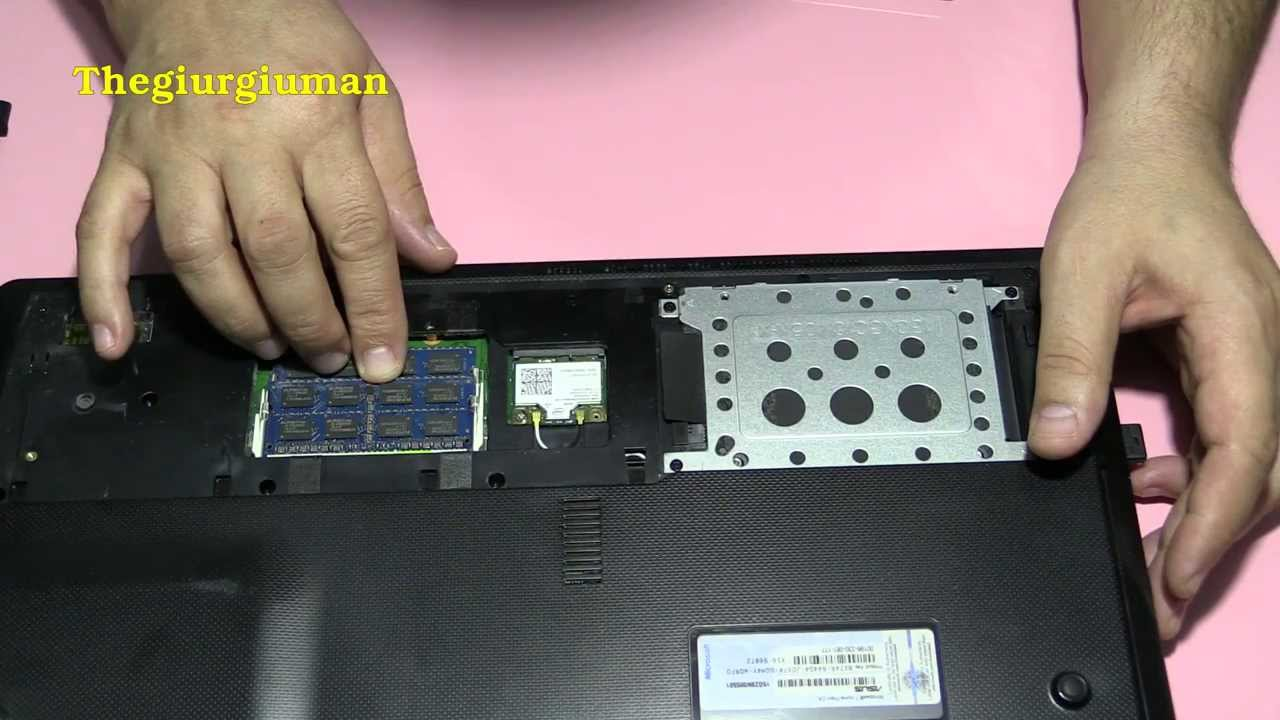 How To Change HDD With SSD On Asus Laptop