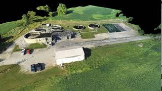 UAV Small Treatment Plant