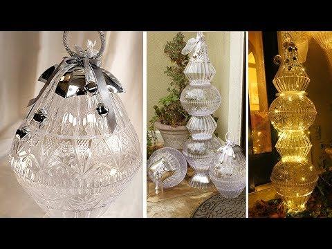 Giant Outdoor Crystal Ornaments - Dollar Tree DIY