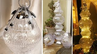 Giant Outdoor Crystal Ornaments - Dollar Tree DIY
