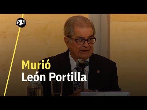 Murió León Portilla, autor de la historia no oficial de la Conquista de Tenochtitlán