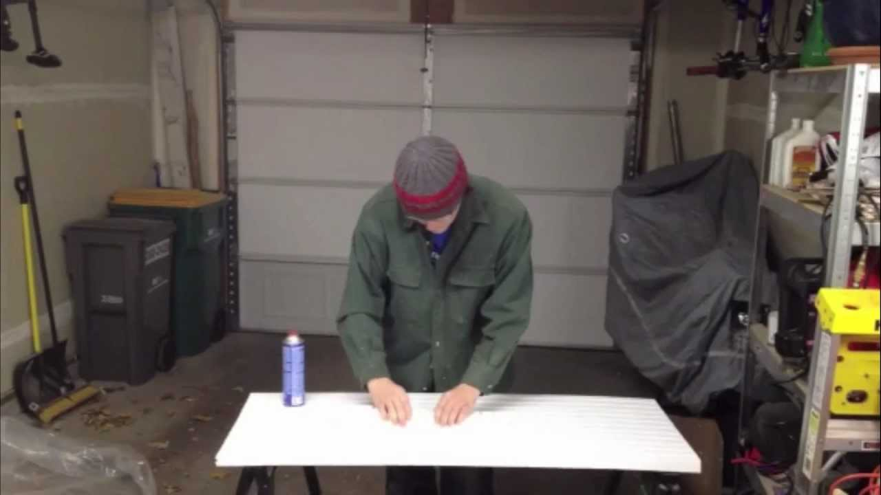 Installing Insulfoam Garage Door Insulation Kit Youtube