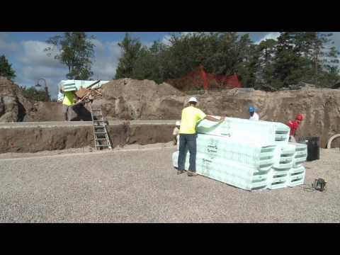 Eco Build NUDURA Installation Video אקו בילד