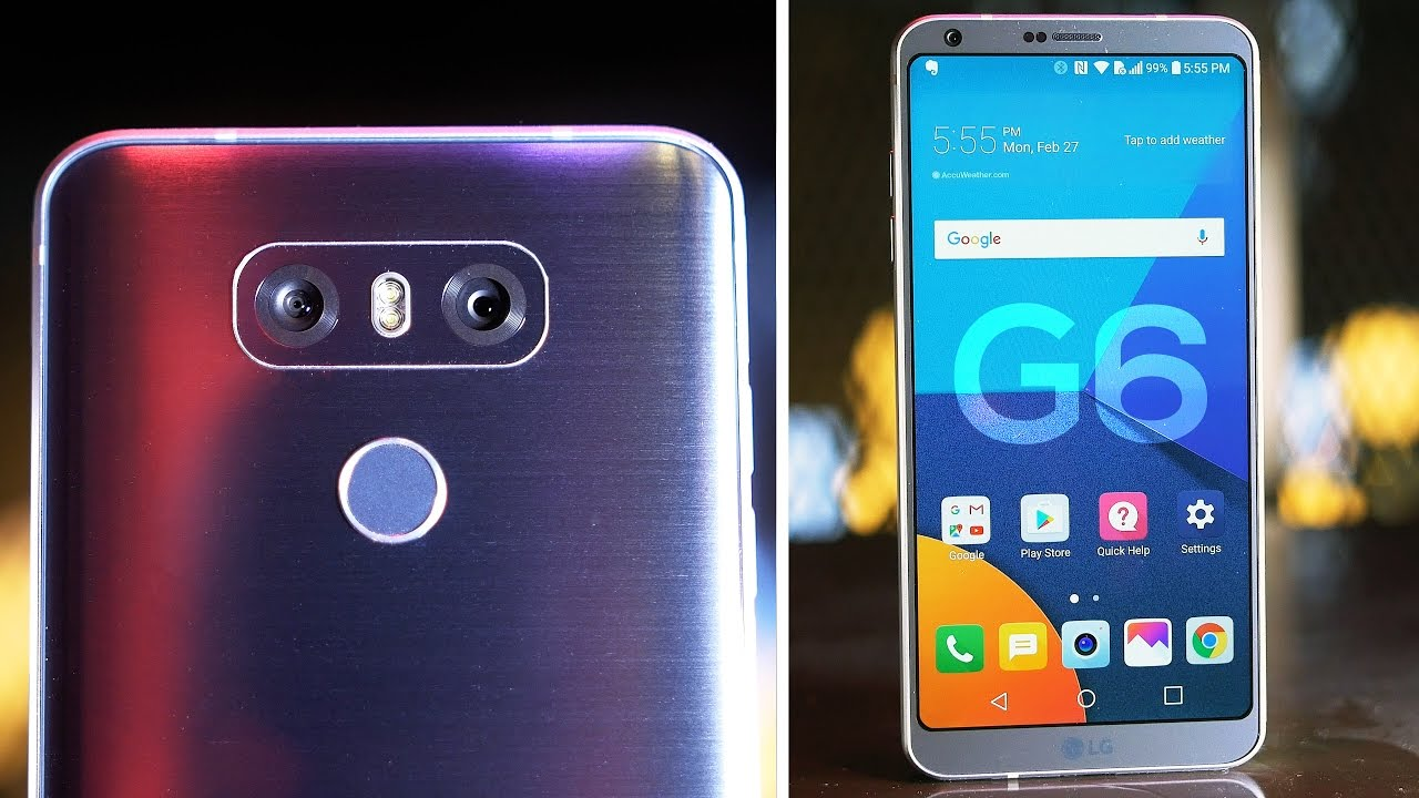 LG G6 Hands-On: Should You Buy the G6 or the Samsung Galaxy S8? - YouTube
