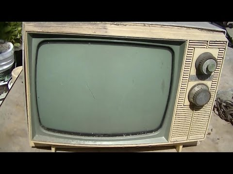 1965 Zenith Black and White Television Resurrection