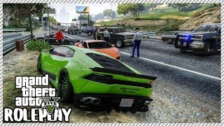 GTA 5 ROLEPLAY - Drunk Driver Crashed in to my Lamborghini | Ep. 286 Civ