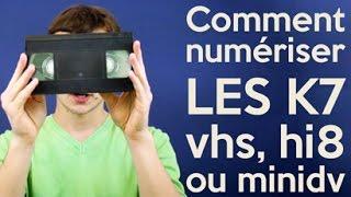 Comment numériser vos cassettes VHS, Hi8 ou miniDV vers PC ou DVD ?