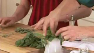 Sandra Lee - Spinach And Basil Orzo