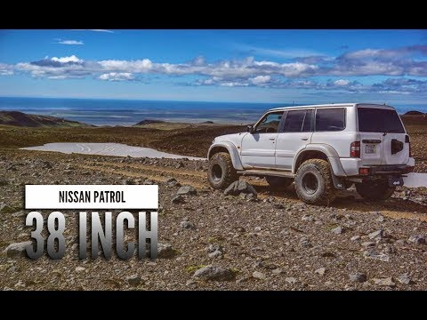 First time going to Icelandic glacier on my Nissan patrol arctic truck 38 inches