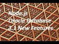 New Features in node-oracledb 3.1