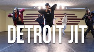 DETROIT JIT | #theINstituteofDancers | Choreographer Mike Manson | Aril Brikha - Groove La Chord