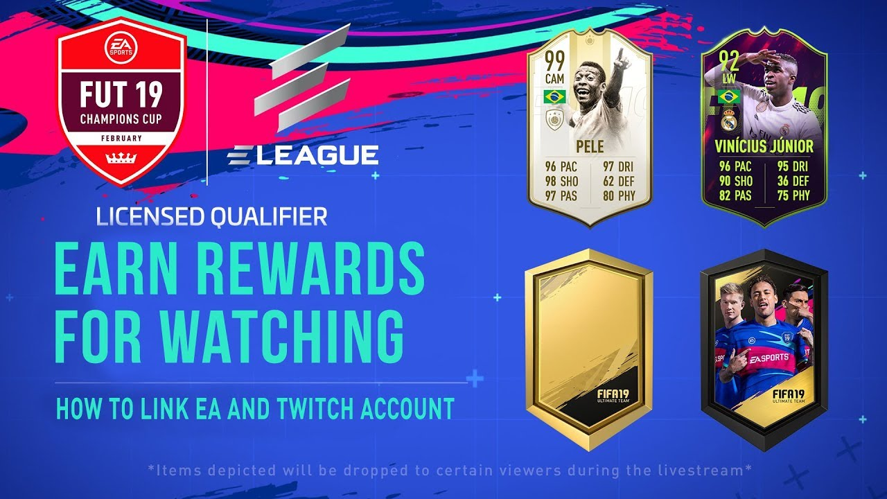 FIFA 19 LINK EA AND TWITCH ACCOUNT FOR FREE REWARDS!