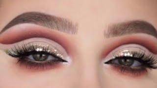 Яркий макияж глаз Bright eye makeup Ochiq ranglar bilan ko zni makiyaj qilish