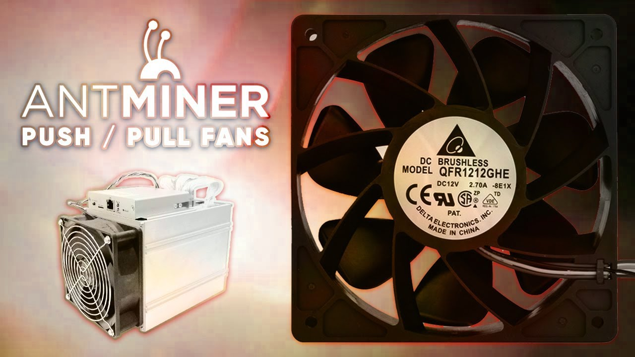 ASIC Push Pull Fan Configs (Antminer Z9 mini / Blackminer F1) Mining